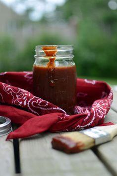 Tangy Barbeque Sauce I TheWellFlouredKitchen.com
