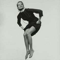 "modernizor: "" Grace Kelly is jumping for Philippe Halsman | The Jump Book, 1959 #gracekelly #philippehalsman #1959 #jumping #jumpbook #click #bnw #master #photographer #studioshot #iconic #Modernizor #inspiration #50s #princessgrace #blackdress..."