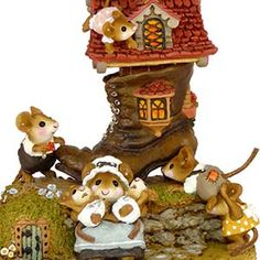 wee forest folk | ... Lived in a Shoe – Wee Forest Folk Collectible | Wee Forest Folk Shop