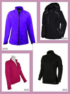 Ladies golf jackets from #LorisGolfShoppe