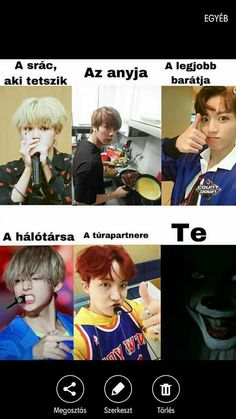 Mi ez a sok japán lófasz ? Bts Memes, Funny Memes, W Two Worlds, Second World, Just Kidding, Jimin, Korea, Lol, Feelings