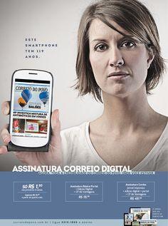 Campanha de lançamento das novas platafromas digitais do jornal Correio do Povo.