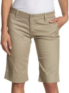 khaki overall shorts | w e a r | Pinterest | Khakis, Shorts and ...