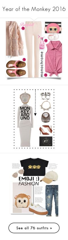 """Year of the Monkey 2016"" by yours-styling-best-friend ❤ liked on Polyvore featuring Étoile Isabel Marant, Chicwish, Old Navy, Kate Spade, Moschino, Guerlain, James Perse, Givenchy, Amedeo and Nancy Gonzalez"