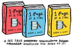 1 Page at a Time by Adam J. Kurtz