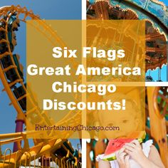 Six Flags Great America Chicago Discount! - Entertaining Chicago
