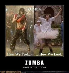 Ive never zumba'd, but i love dancing...and Jim Carrey...and this movie lol!