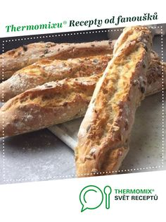 Recipe Makové bagety by TomasH, learn to make this recipe easily in your kitchen machine and discover other Thermomix recipes in Chléb a rohlíky. Kitchen Machine, Hot Dog Buns, Sup, Bread, Food, Wand, Cooking, Thermomix, Breads
