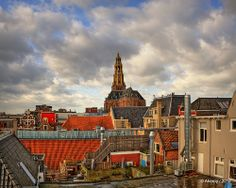 A-Tower/A-Church & Roofs,Groningen stad,the Netherlands,Europe