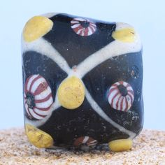 Ancient medieval islamic glass bead. ø 31 mm. 900 – 1200 AD. by faqrun on Etsy