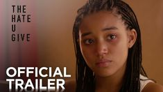 Amandla Stenberg stars in The Hate U Give trailer, an adaptation of Angie Thomas' best-selling YA novel about a teenager torn between two worlds who witnesses the shooting of her childhood best friend. Book Trailers, New Trailers, Love Movie, Movie Tv, Lamar Johnson, Fox Movies, Funny Movies, Amandla Stenberg, Between Two Worlds