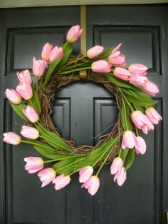 Tulip wreath | Photo Place