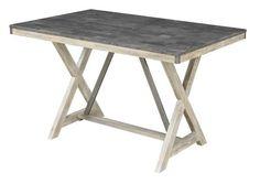 Melbourne Craftsman Antique Elm Bluestone Laminate Top Counter Table