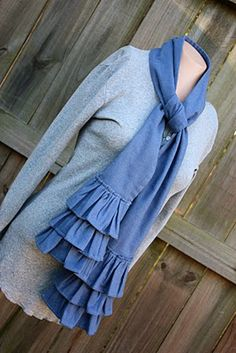 Ruffled Scarf for SEWING REPUBLIC | Make It and Love It