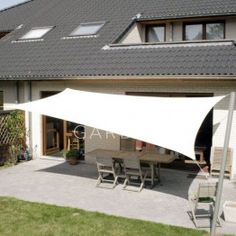 Finding shade is easy when you plan ahead of time. Whether you're the one looking for shade or anticipate guests panting this summer from being outside, get a rectangle shade sail to cover your area today. Cool-Off's Rectangle Shade Sail can make b