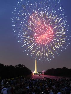 july 4th fireworks dc start time
