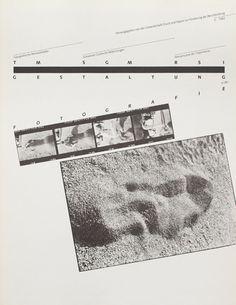 TM SGM RSI, Typografische Monatsblätter, issue 5, 1983. Cover designer: Hans Rudolf Bosshard