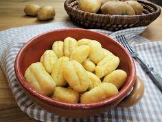 Gnocchi, Mozzarella, Cooking Recipes, Cheese, Pizza, Chef Recipes, Recipies, Recipes