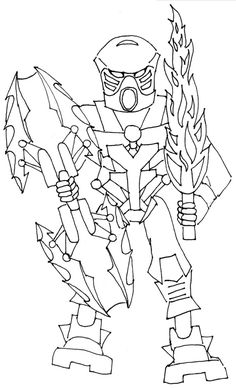 lego bionicle coloring pages | Cartoon | Lego bionicle ...