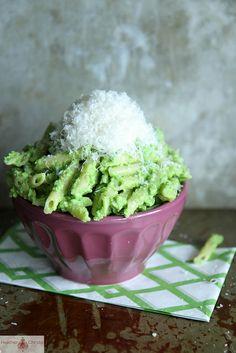 Pea Pesto Pasta by Heather Christo, via Flickr