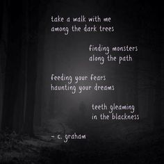 Poetry by C.A. Graham
