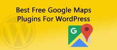 #Want to #show #Google #map on your #website?there are #many wordpress Google map #plugins #but we are here with #Best #Free WordPress #Google_Maps_Plugins. All You need to #submit your #location details to #Google then An #interactive map can be included in your website #quite #easily. by this you can give your website a #wider #reach and your listings will show up on a #Google #search. Read more: