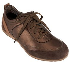 Vionic w/ Orthaheel Orthotic Leather Walking Shoes - Willa