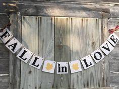 Fall Wedding Wedding Banners Barn Wedding by anyoccasionbanners