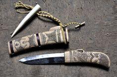 Ainu knife. Makiri. Made by Mr.Urakawa.