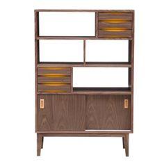 mid century modern vertical cabinet - Google Search