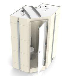 Taplanes: Arran en suite bathroom pod 2 of 2