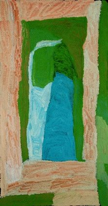 Lydia Balbal - 136x70cm - Untitled, 2011  / IDAIA - International Development for Australian Indigenous Art