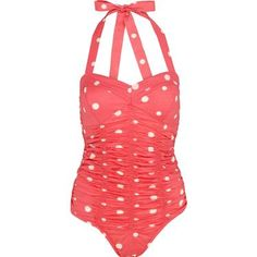 Cath Kidston - Sunspot Ruched Swimsuit