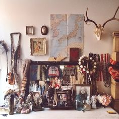 Leah Hoffman's bohemian vanity