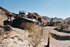 Ghost Town of Calico, Mojave Desert, California