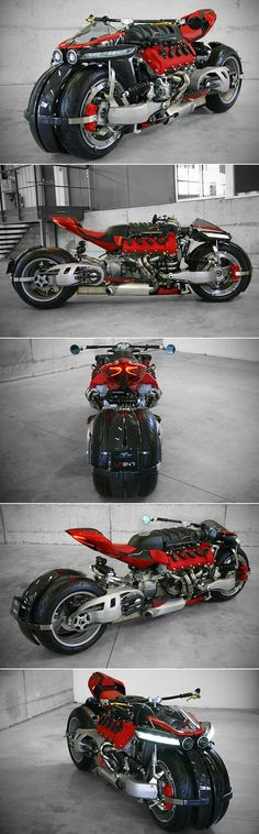 This is What the Maserati V8-Powered Lazareth LM-847 Quad Motorcycle Sounds Like