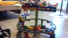 Lego Duplo Train - Carousel, circus, roller coaster - Karuzela part 1