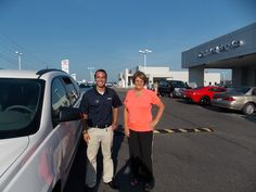 """""""Bryant was very helpful and positive.  Dwayne Kanoyton, Carl Gant, and Chuck Easter worked to get me a deal."""" - Cheryl Canady, who purchased her 2014 Traverse LS from Bryant Couch. -"""