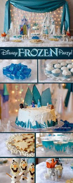 That Cute Little Cake: More Disney Frozen Party Inspiration