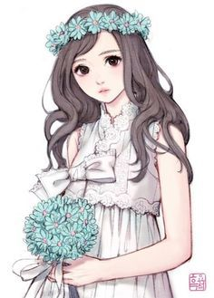 Exquisite Learn To Draw Manga Ideas Anime Drawing Design Someone asked me to go with him all my life, my answer was him - Kawaii Anime, 5 Anime, Kawaii Girl, Manga Girl, Anime Art Girl, Anime Girls, Anime Style, Molduras Vintage, Character Art