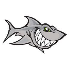 Scuba Shark Sticker Decal