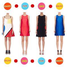 Pop colours! Color Pop, Yves Saint Laurent, Streetwear Brands, Lisa, Luxury Fashion, Dresses For Work, Style Inspiration, Colours, Collection