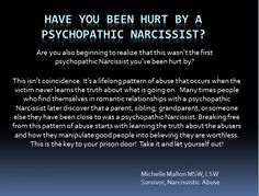 Milestones in recovering from Narcissistic Abuse: Figuring out it wasn't you!