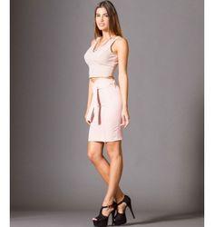 Midi Κρεπ Φούστα με Ζώνη  - Μake up Two Piece Skirt Set, Skirts, Dresses, Fashion, Vestidos, Moda, Fashion Styles, Skirt