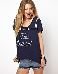 Image 1 of Wildfox Hey Sailor T-Shirt