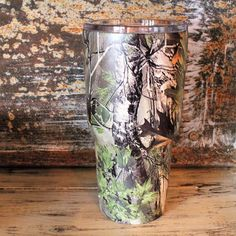 Camo 30 oz Hydro Dipped Tumbler – Southern Mess Boutique
