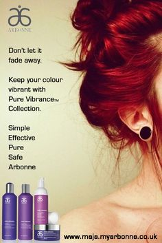 For chemically and colour treated hair -  I absolutely love the Pure Vibrance Collection by Arbonne Pure, Safe & Beneficial. Arbonne_