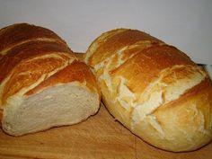 Fehér kenyér :: Ami a konyhámból kikerül Pastry Recipes, Bread Recipes, Braided Bread, Hungarian Recipes, Bread And Pastries, Challah, Bread Rolls, Bread Baking, No Bake Cake