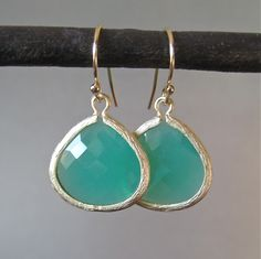 I love the color... these earrings were made just right.. any different and they would be a no