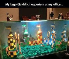 Harry Potter fish tank Legos
